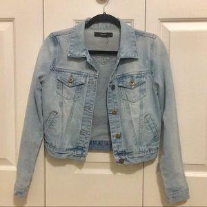 Forever 21 Light wash denim jacket